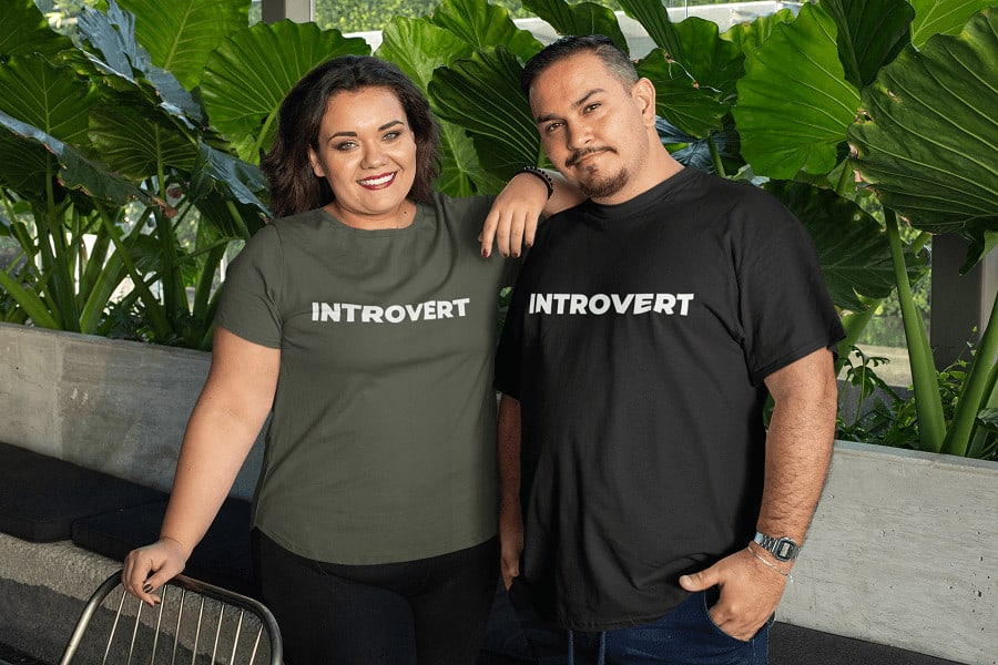 The Introverts Lair mockup-of-two-friends-wearing-plus-size-t-shirts-at-a-restaurant-31076-2-1 Home